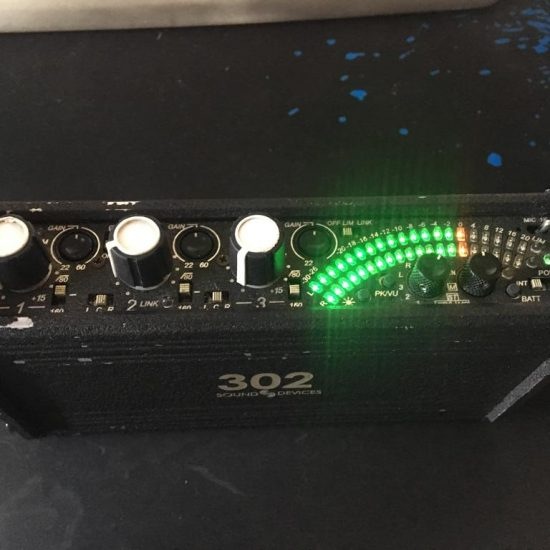 מיקסר שטח Sound Devices 302